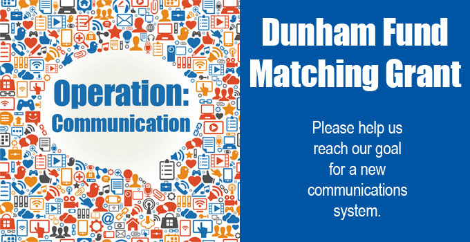 Dunham Fund Matching Grant