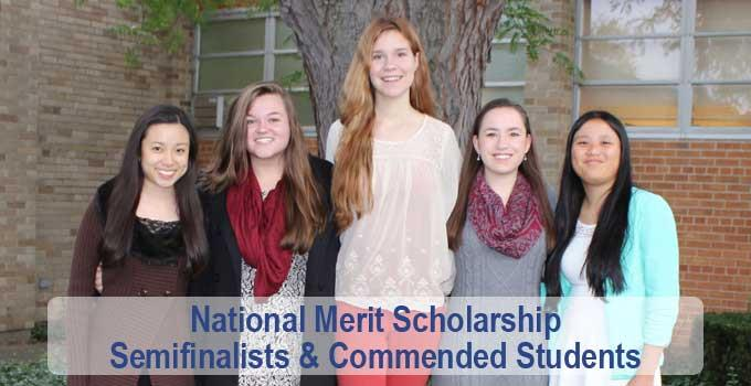 Five Recognized by National Merit Scholarship Program