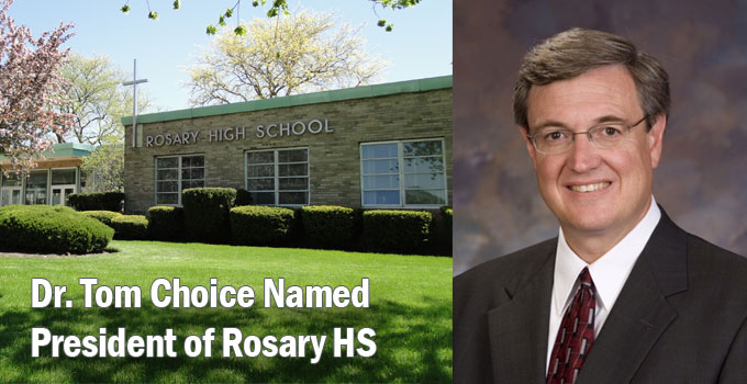 Introducing Rosary High School's First President
