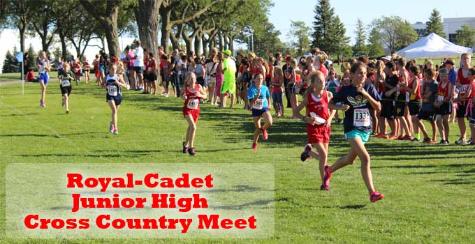 Royal-Cadet Junior High Cross Country Meet