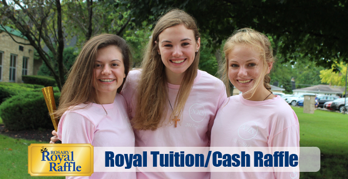 Royal Tuition/Cash Raffle