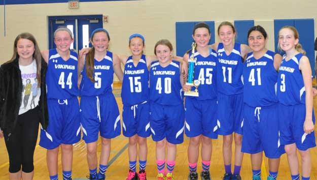 Annunciation Wins 7th Grade BB Tourney