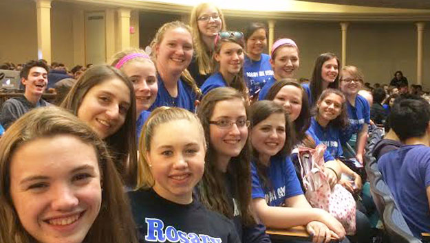 Math Team Participates in State ICTM Contest