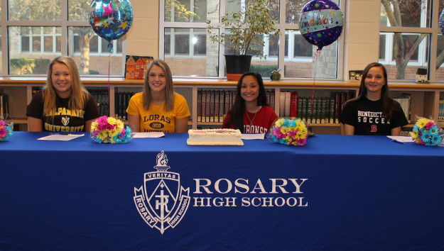 Four Commit to Play Their Sport in College