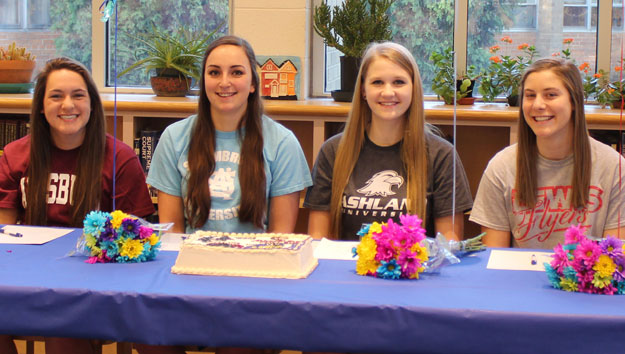 Four More Athletes Sign Letters of Intent